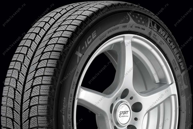 Michelin X-Ice 3 215/60 R17 96T